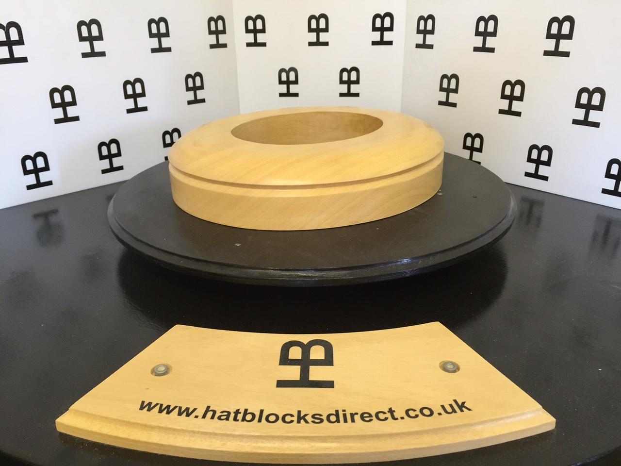 HB082 Brim Hat block