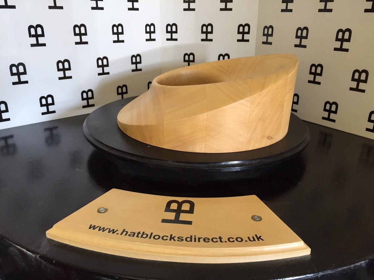 HB083 Brim Hat Block
